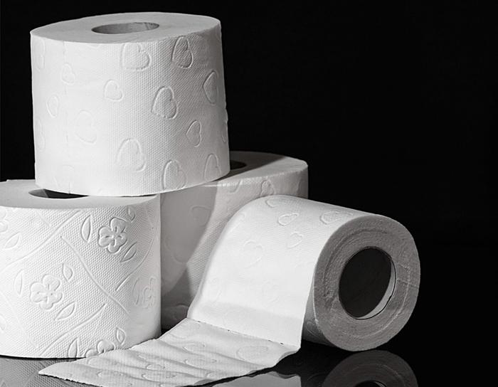 Bobina de papel industrial